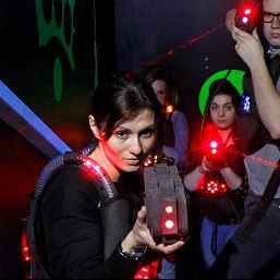 laser game team building entreprise